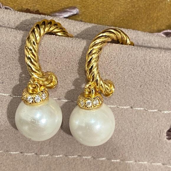 David Yurman Solari Hoop Earrings